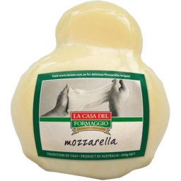Photo of La Casa Del Formaggio Mozzarella Ball 450gm