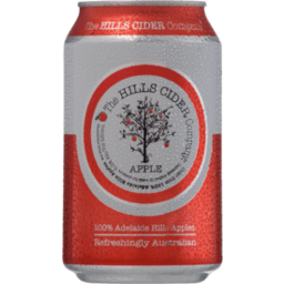 Photo of The Hills Cider Co Apple Cider Can