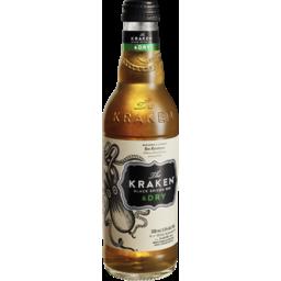 Photo of Kraken Black Spiced Rum & Dry Bottles