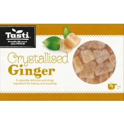 Photo of Tasti Crystallised Glace Ginger 150g