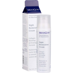 Photo of MOOGOO SKIN CARE:MG Natural Night Cream 75g