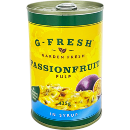 Photo of G Fresh Passionfruit Pulp In Syrup 425g