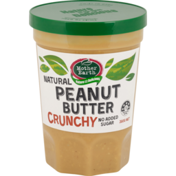 Photo of Mother Earth Peanut Butter Crunchy 380g
