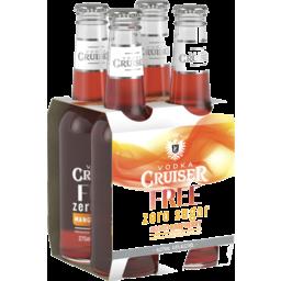 Photo of Vodka Cruiser Sugar Free Mango Raspberry