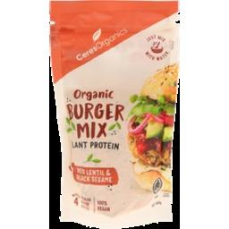 Photo of Ceres Organics Burger Mix - Lentil & Black Sesame