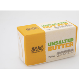 Photo of Black & Gold Butter Unsalted 250gm