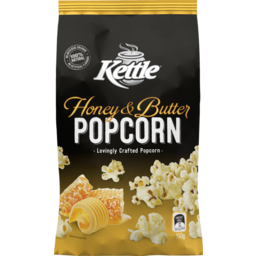 Photo of Kettle Chip Company Corn Snacks Kettle Popcorn Honey Butter 110g 110g