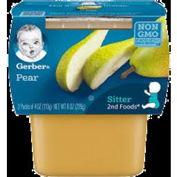 Photo of Gerber 2nd Food Pear Puree