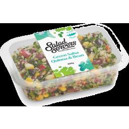 Photo of Salad Servers Green Salsa Quinoa & Bean 300g