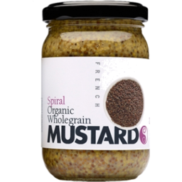 Photo of Spiral - Mustard Wholegrain - 200g