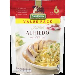 Photo of San Remo La Pasta Alfredo Pasta & Sauce 160g