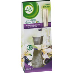Photo of Air Wick Reed Diffuser Midnight Blackberry & Vanilla Silk 50ml