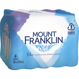 Photo of Mount Franklin 20x500ml