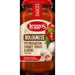 Photo of Leggo's Bolognese With Mushroom, Chunky Tomato & Herbs Pasta Sauce 500g