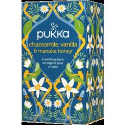 Photo of Pukka Tea - Chamomile, Vanilla & Manuka Honey 20 bags