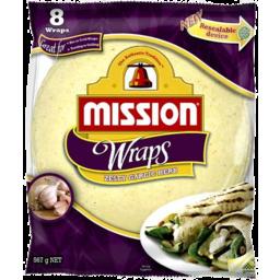 Photo of Mission Zesty Garlic & Herb Wraps 567gm