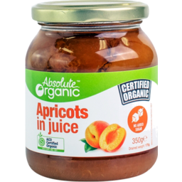 Photo of Absolute Organic Apricots In Juice 350gm