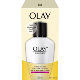 Photo of Olay Complete Moisture Lotion Spf15 Normal 150ml Pack