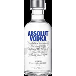 Photo of Absolut Vodka 200ml