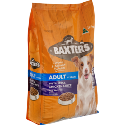 Photo of Baxter's Adult Dog Food, With Real Chicken & Rice 12kg