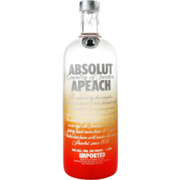 Photo of Absolut Peach