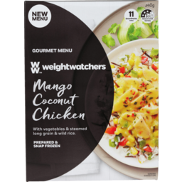 Photo of Weight Watchers Mango Coconut Chicken