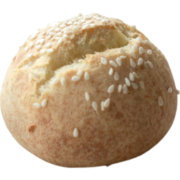 Photo of Crusty Sesame Seeded Round Roll