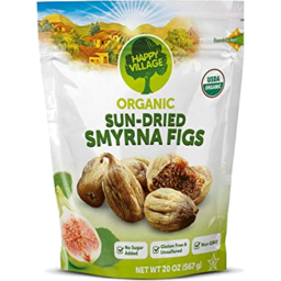 Photo of Happy Village Organic Sundried Figs