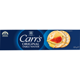 Photo of Carr's Original Table Water Crackers 125g 125g