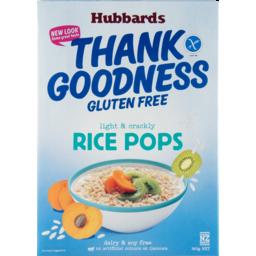 Photo of Hubbards Gluten Free Thank Goodness Rice Pops 360g