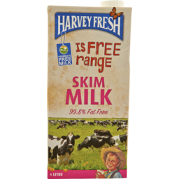 Photo of Harvey Fresh Milk Skim Long Life (1L)