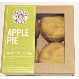 Photo of Johnny Ripe Snack Apple Pies (4pk) 800g