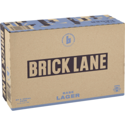 Photo of Brick Lane Base Lager Cans