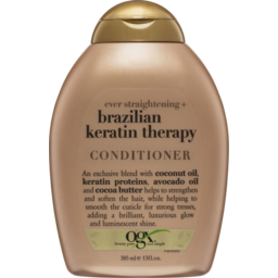 Photo of Ogx Straightening Brazilian Keratin Therapy Conditioner 385ml
