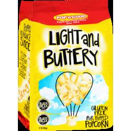 Photo of Pop 'n' Good Light Buttery Popcorn 150g