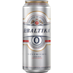 Photo of Beer Baltika 0 Non Alc Can 330ml