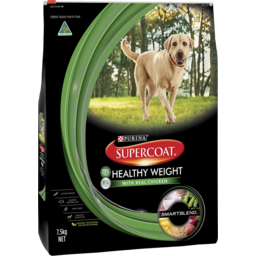 Photo of Purina Supercoat Adult Dog Healthy Weight Management Dry Dog Food 7.5kg