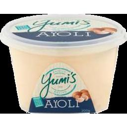 Photo of Yumis Aioli Mayonnaise Garlic 200gm