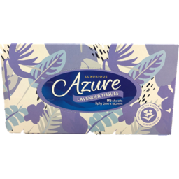 Photo of Azure Facial Tissues 3 Ply Lavender 95 Pack