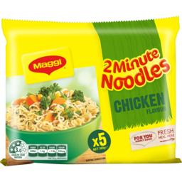 Photo of Maggi 2 Minute Noodles Chicken Flavour (5x72g)