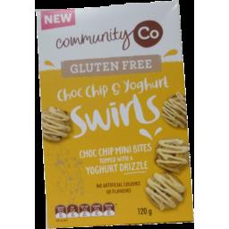 Photo of Community Co Gluten Free Choc Chip & Yoghurt Swirls 120g