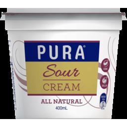 Photo of Pura Sour Cream 400ml