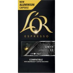 Photo of Lor Espresso Cap Onyx 10pk