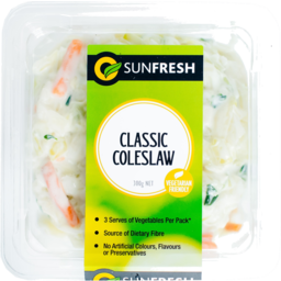 Photo of Sunfresh Coleslaw Salad 300g