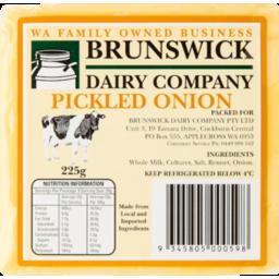 Photo of Brunswick Chse Pckld Onion 225g