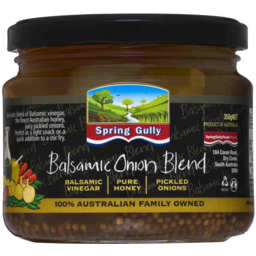 Photo of Spring Gully Onion Honey Balsamic 540g