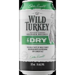 Photo of Wild Turkey Bourbon & Dry Can