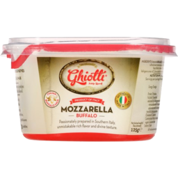 Photo of Ghiotti Mozzarella 125g