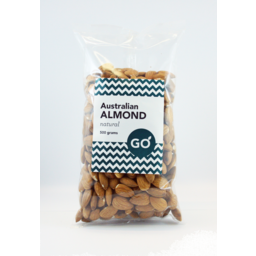 Photo of Go Australian Almond Natural 500gm
