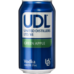 Photo of UDL Vodka & Green Apple Cans